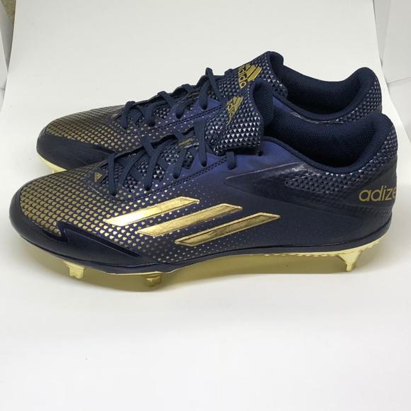 the latest 3c785 b5655 Adidas Adizero Afterburner 2.0 Sz 10 Blue Football